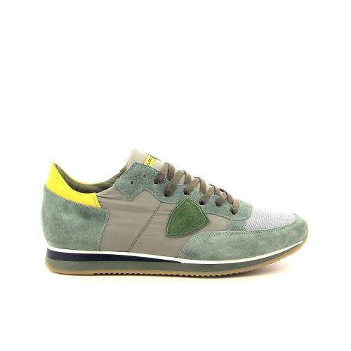 Philippe model herenschoenen sneaker groen 168719