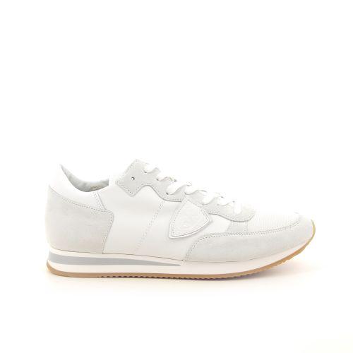 Philippe model herenschoenen sneaker wit 191778