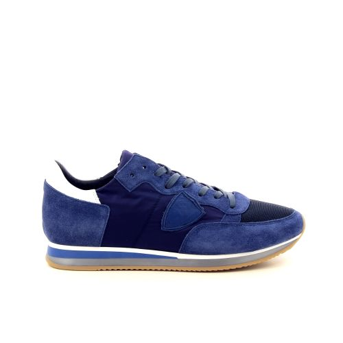 Philippe model  sneaker donkerblauw 191776