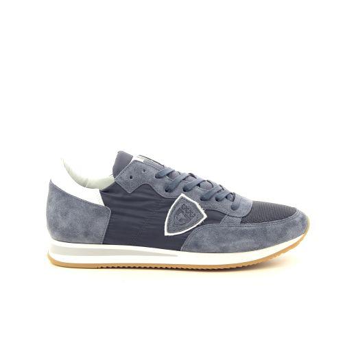 Philippe model herenschoenen sneaker blauw 191778