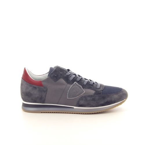 Philippe model herenschoenen sneaker grijs 191777