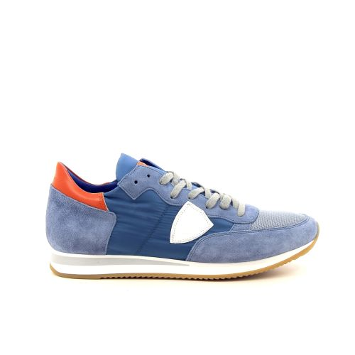 Philippe model herenschoenen sneaker blauw 191773