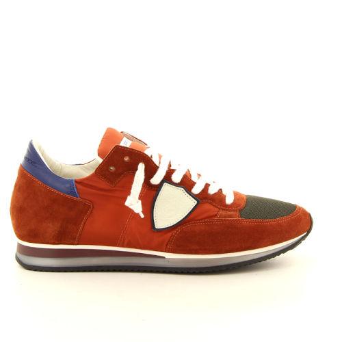Philippe model herenschoenen sneaker rood 191778