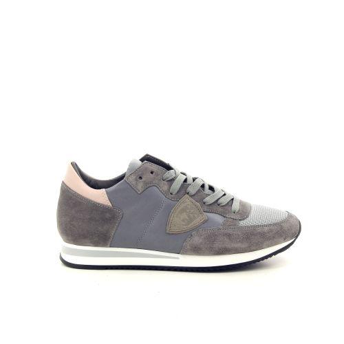 Philippe model damesschoenen sneaker grijs 187621