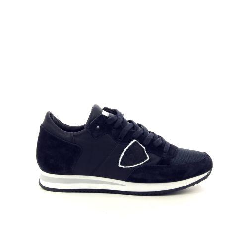 Philippe model damesschoenen sneaker blauw 187621