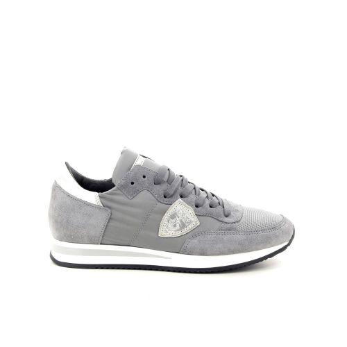 Philippe model damesschoenen sneaker grijs 187624