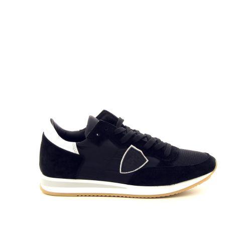 Philippe model damesschoenen sneaker zwart 187621