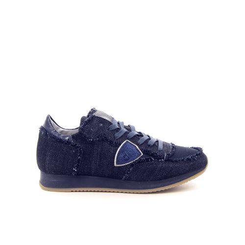 Philippe model damesschoenen sneaker poederrose 168679