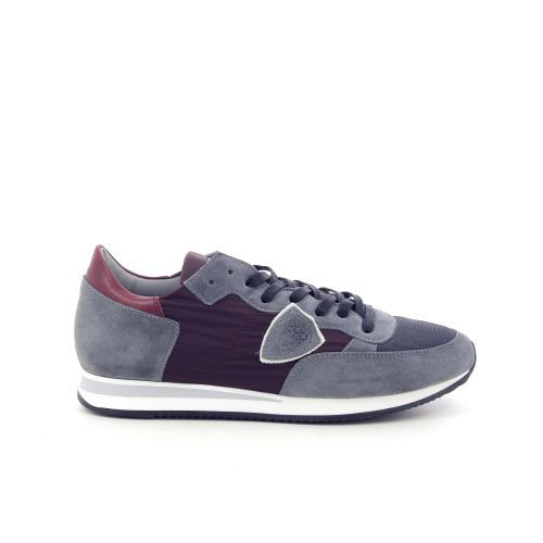 Philippe model herenschoenen sneaker grijs 187645