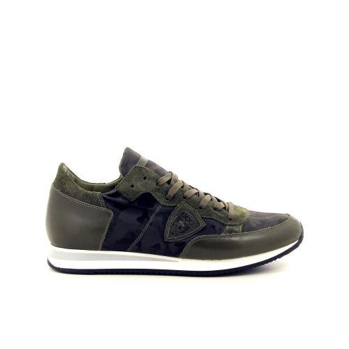 Philippe model herenschoenen sneaker groen 187645