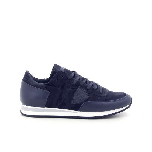 Philippe model herenschoenen sneaker blauw 187645