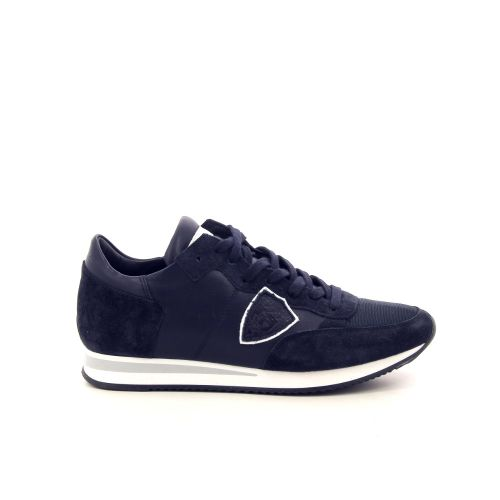 Philippe model damesschoenen sneaker blauw 191727