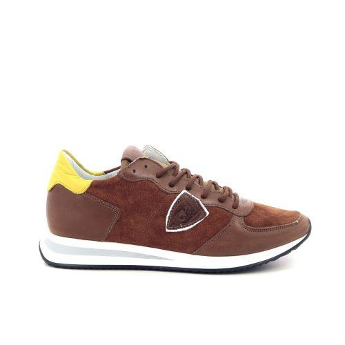 Philippe model damesschoenen sneaker cognac 198071