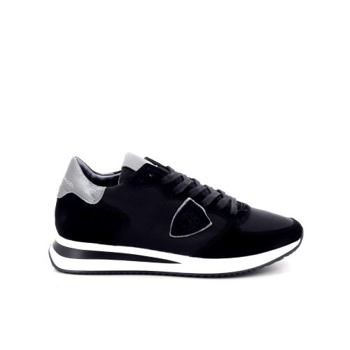 Philippe model damesschoenen sneaker zwart 198071