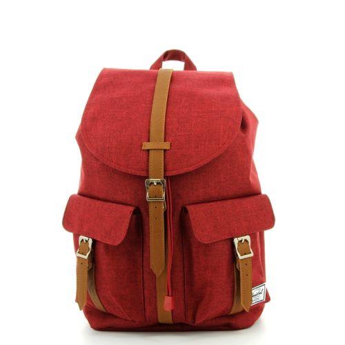 Herschel tassen rugzak rood 176137
