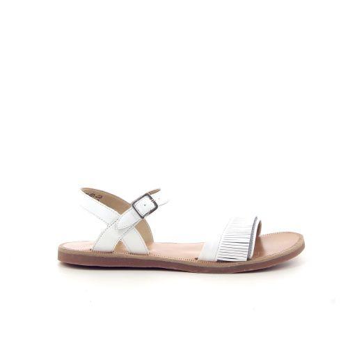 Pom d'api kinderschoenen sandaal wit 183425