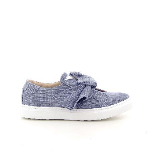 Maimai damesschoenen veterschoen jeansblauw 184484