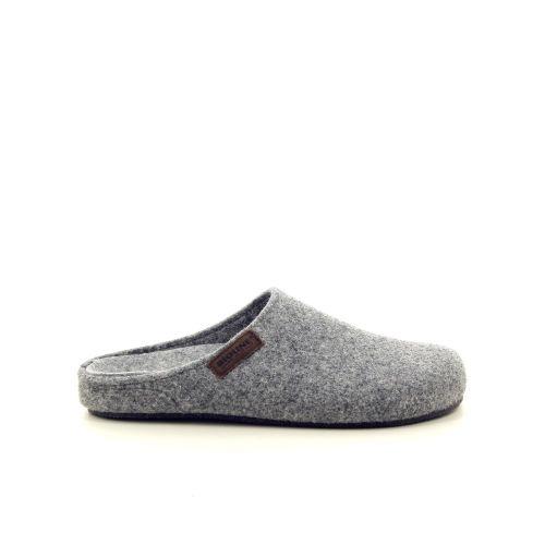 Bioline damesschoenen pantoffel grijs 190311