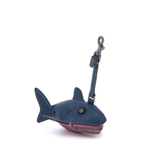 Coach accessoires sleutelhanger blauw 180865