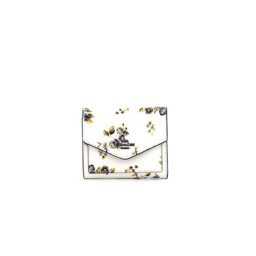Coach accessoires portefeuille ecru 175910