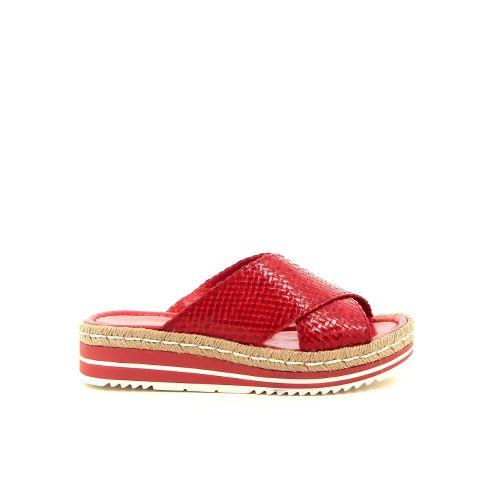 Pons quintana damesschoenen muiltje rood 184041