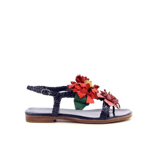 Pons quintana solden sandaal donkerblauw 184052