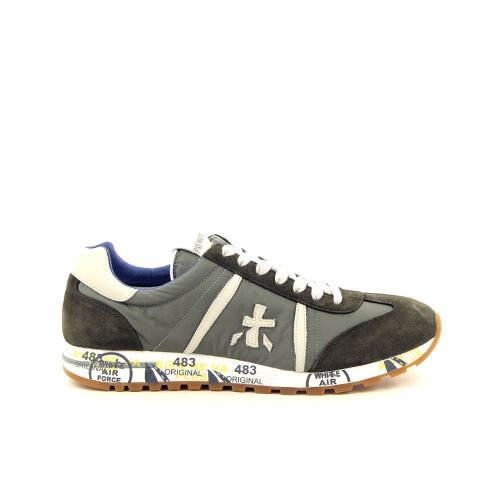Premiata herenschoenen sneaker jeansblauw 172669