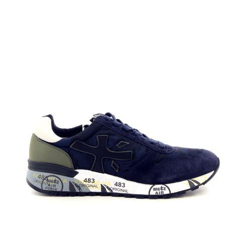 Premiata herenschoenen sneaker blauw 18527
