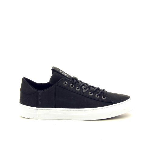 Hub herenschoenen sneaker zwart 192945
