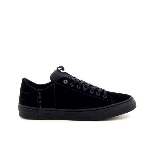 Hub herenschoenen sneaker zwart 183630