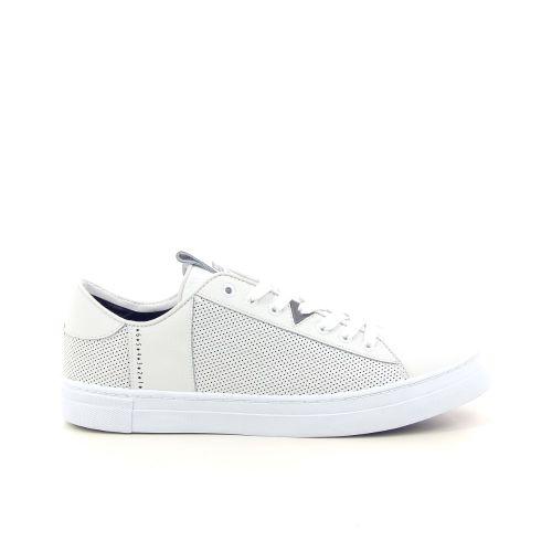 Hub herenschoenen sneaker wit 192943