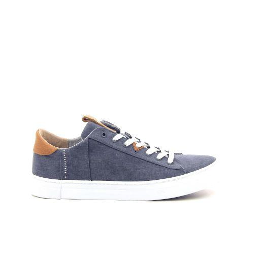Hub herenschoenen sneaker blauw 192943