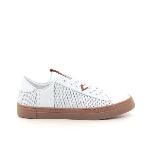 Hub herenschoenen sneaker wit 192945