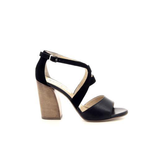 Atelier content damesschoenen sandaal zwart 193211