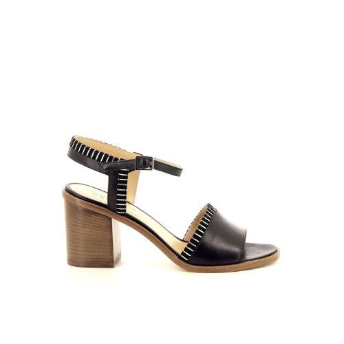 Atelier content damesschoenen sandaal zwart 193209