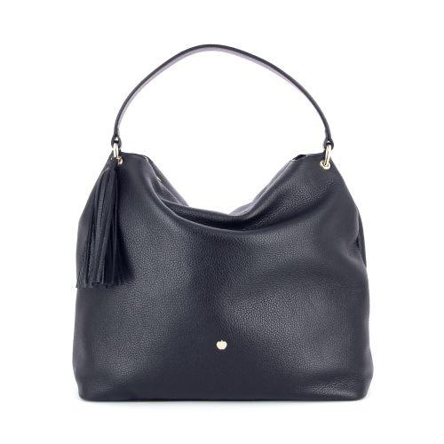 La pomme tassen handtas zwart 180119