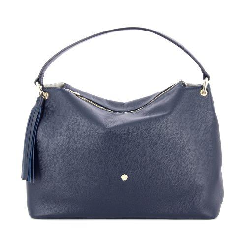 La pomme tassen handtas blauw 180113