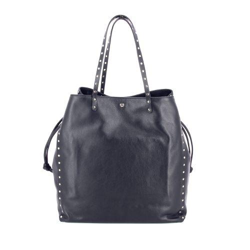 La pomme tassen handtas zwart 180127
