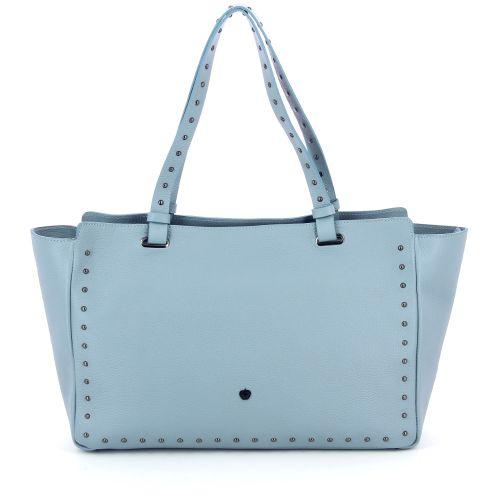 La pomme  handtas lichtblauw 183085