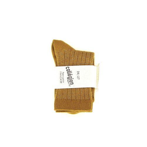 Collegien accessoires kousen geel 177579