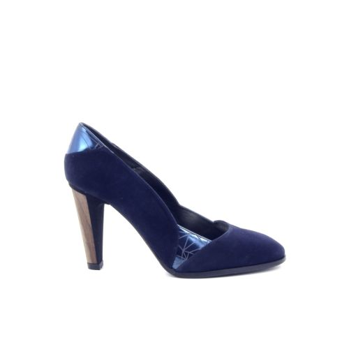 Thiron damesschoenen pump donkerblauw 171398