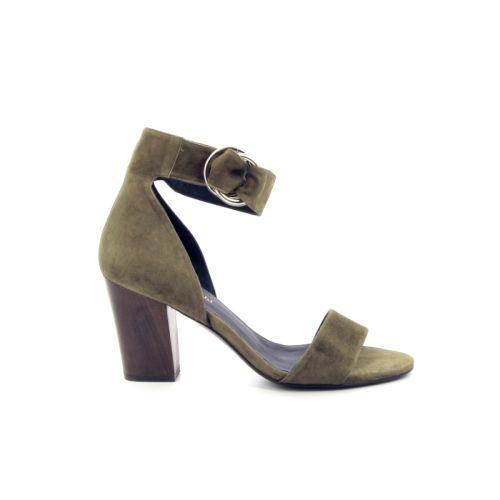 Megumi ochi damesschoenen sandaal kaki 171733
