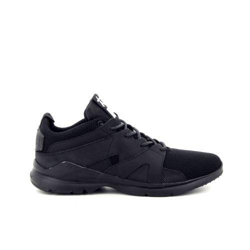 Osaka herenschoenen sneaker zwart 186524