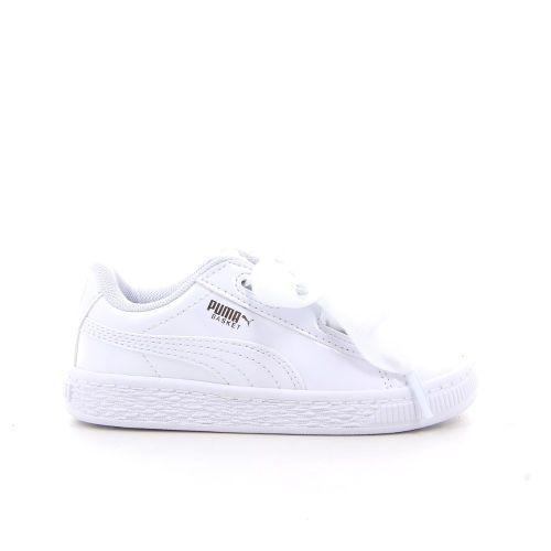 Puma kinderschoenen sneaker wit 181335