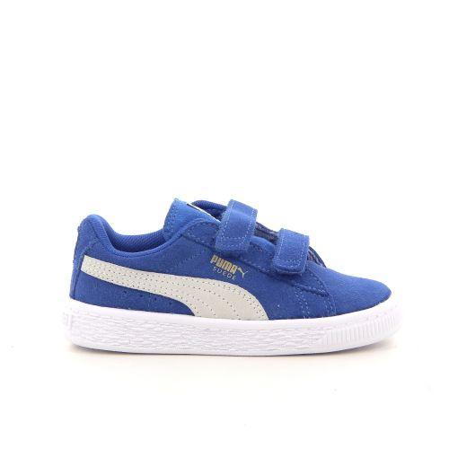 Puma kinderschoenen sneaker blauw 181341