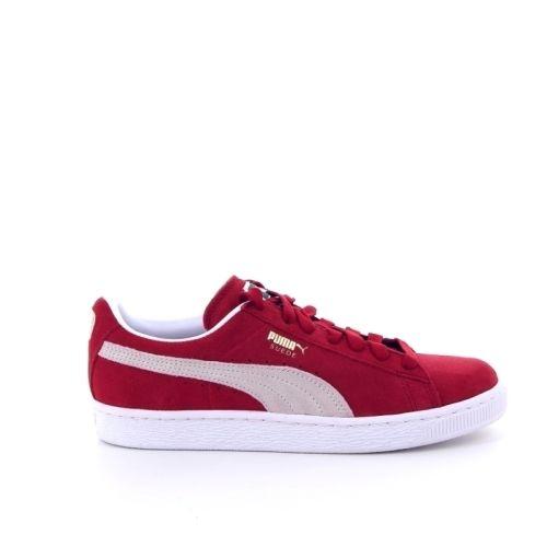 Puma herenschoenen sneaker rood 187340