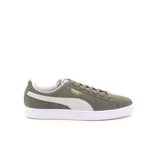 Puma damesschoenen sneaker groen 181324