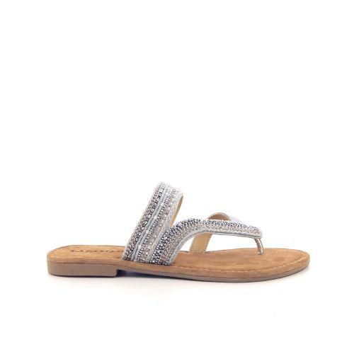 Lazamani damesschoenen sleffer zilver 193899