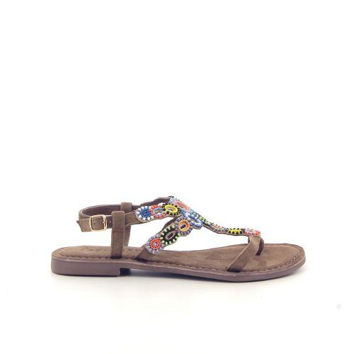 Lazamani damesschoenen sandaal zwart 183178
