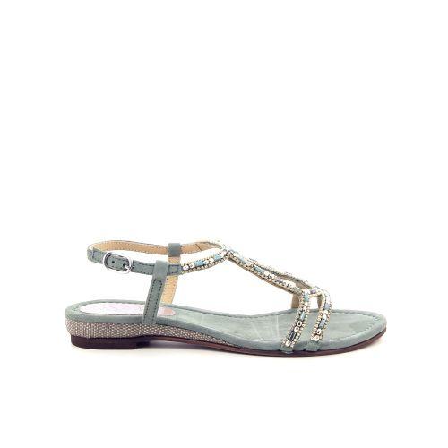 Lazamani damesschoenen sandaal watergroen 193889